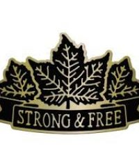 Strong & Free Emblems